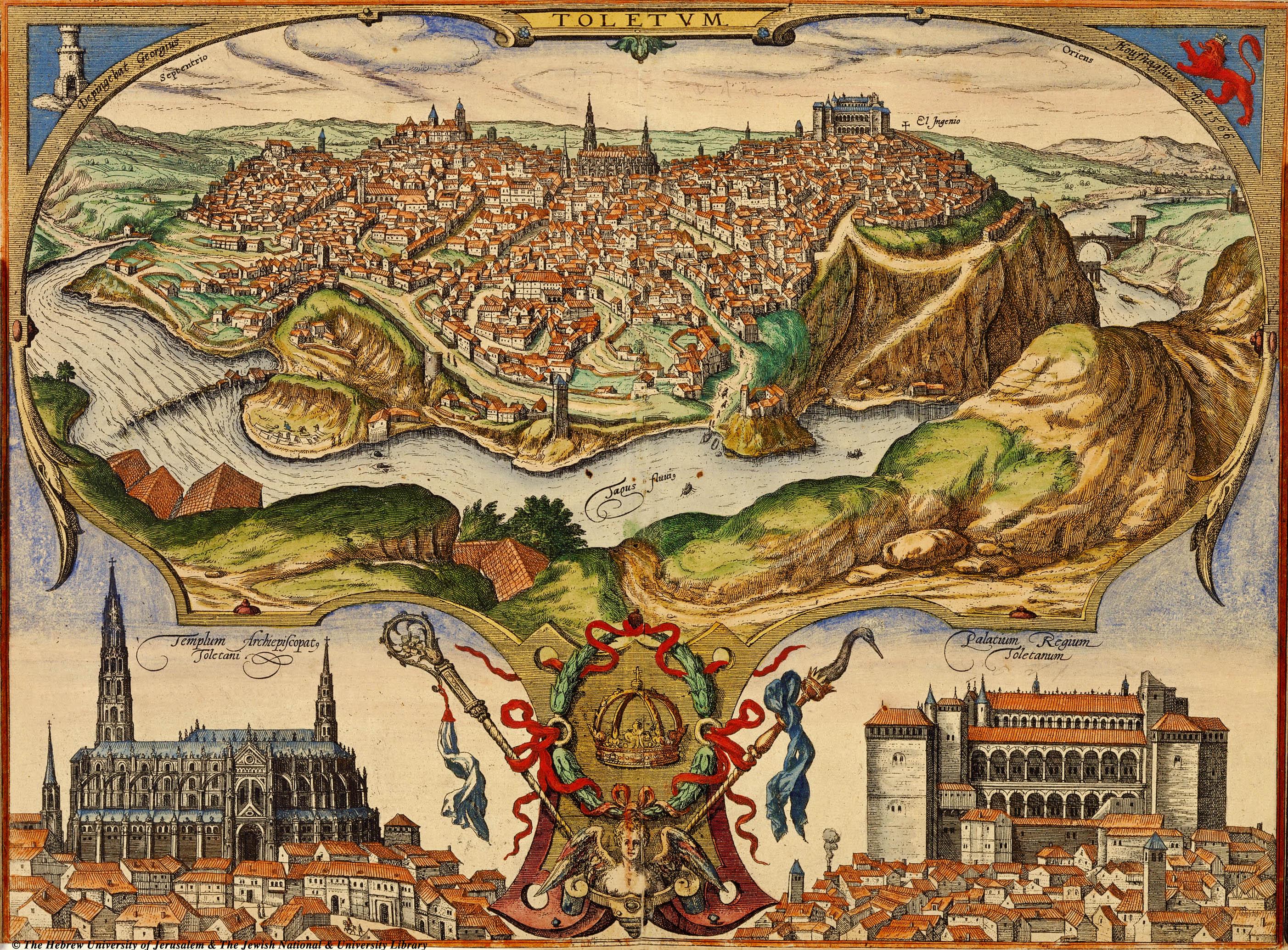 Resultado de imagen de mapa Tierra de Toledo a fines del Medioevo